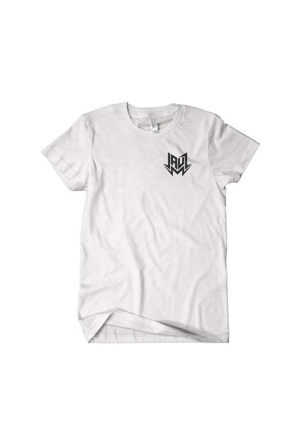 CIRCLE WHITE T-SHIRT JAUZ OFFICIAL SMALL White