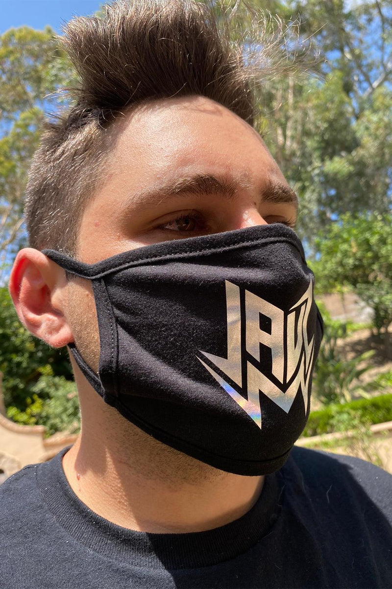 JAUZ HOLO LOGO FACE MASK ACCESSORIES JAUZ OFFICIAL