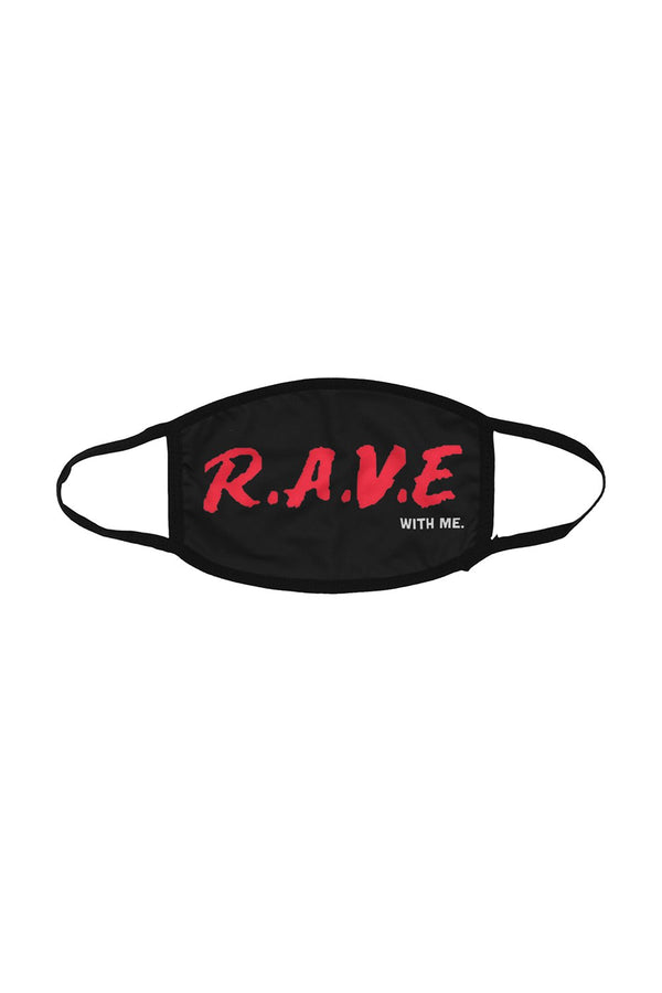 RAVE WITH ME FACE MASK ACCESSORIES JAUZ OFFICIAL