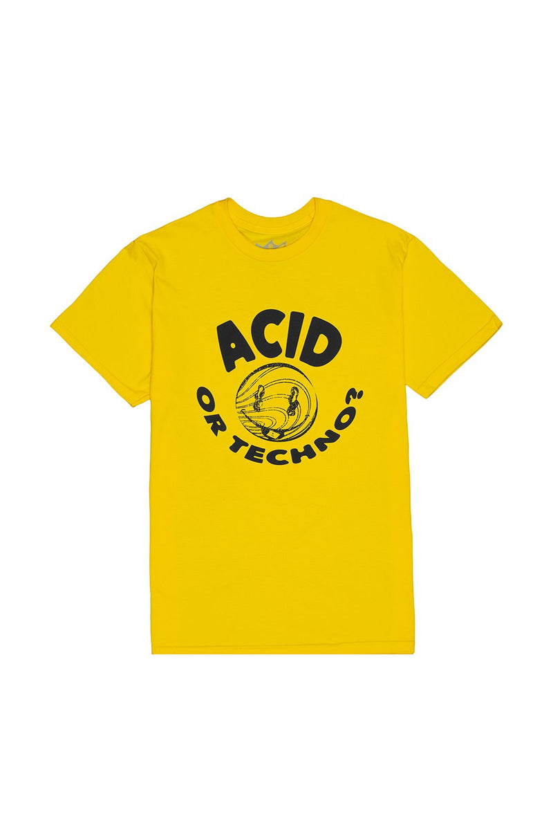 ACID or TECHNO T-Shirt T-SHIRT JAUZ OFFICIAL S Yellow