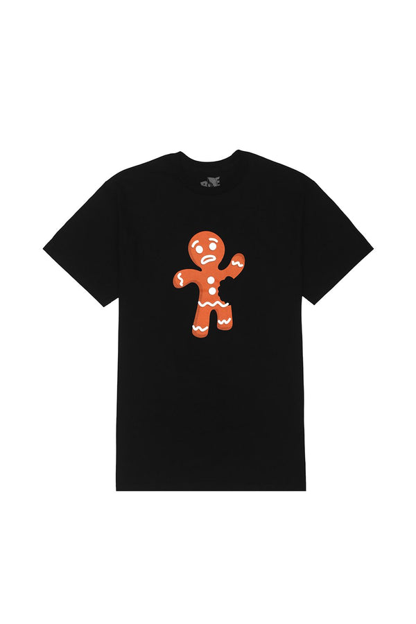 Gingerbread Man T-Shirt T-SHIRT BiteThis S Black