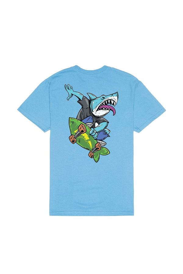 Bite This Gnar T-Shirt T-SHIRT BiteThis S Light Blue