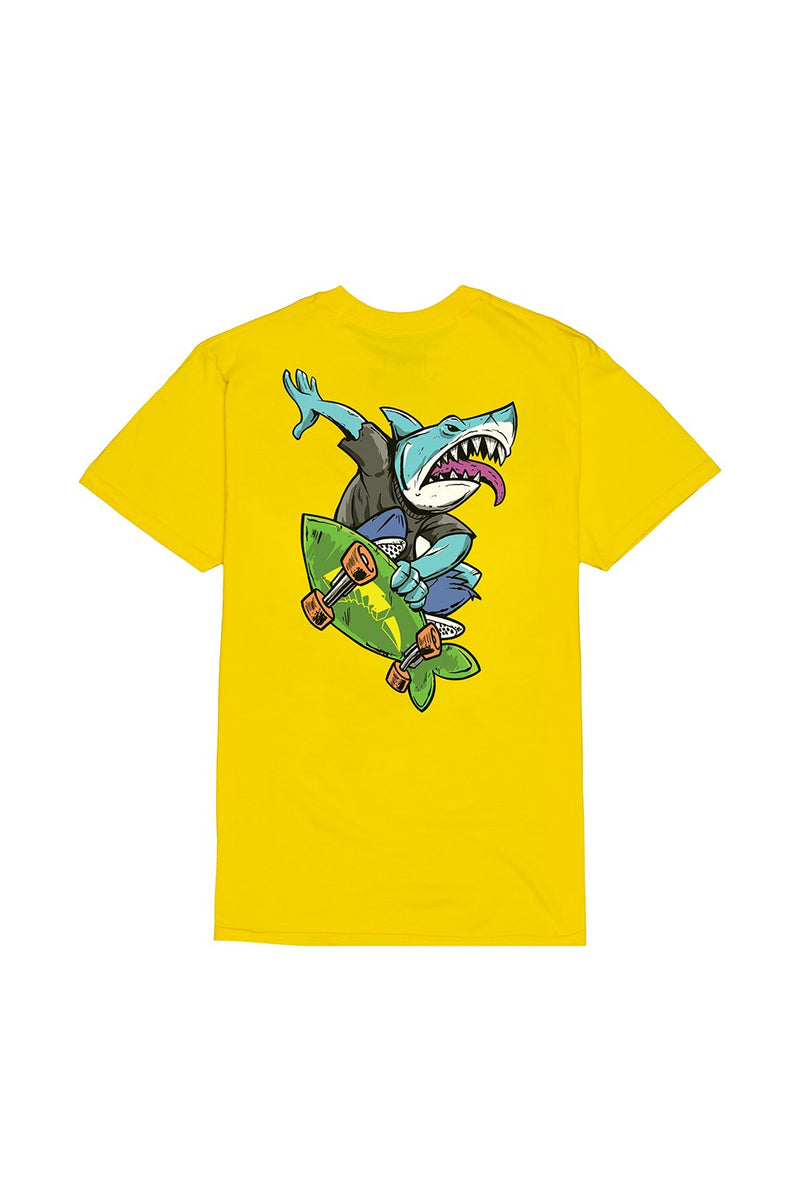 Bite This Gnar T-Shirt T-SHIRT BiteThis S Yellow
