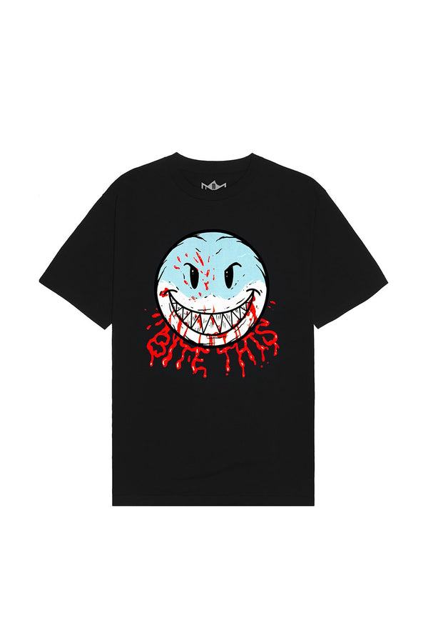 Bloody Smile T-Shirt T-SHIRT BiteThis S Black