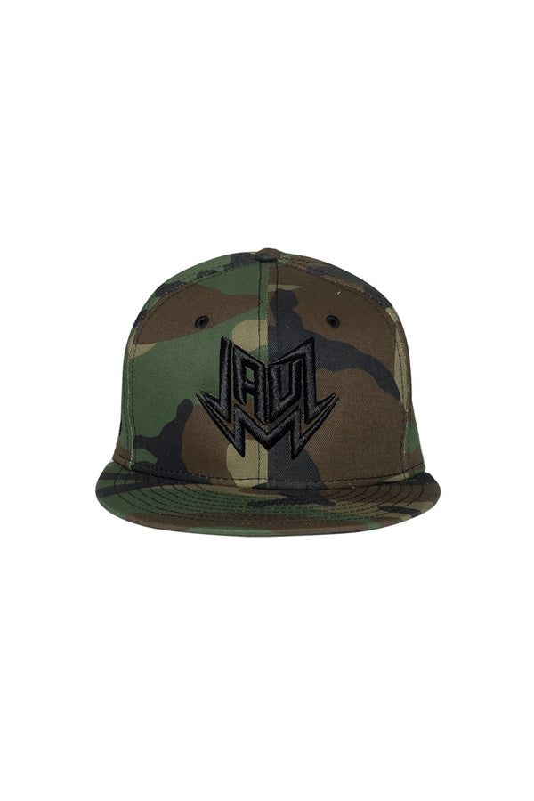 CAMO LOGO SNAPBACK HEADWEAR JAUZ OFFICIAL green
