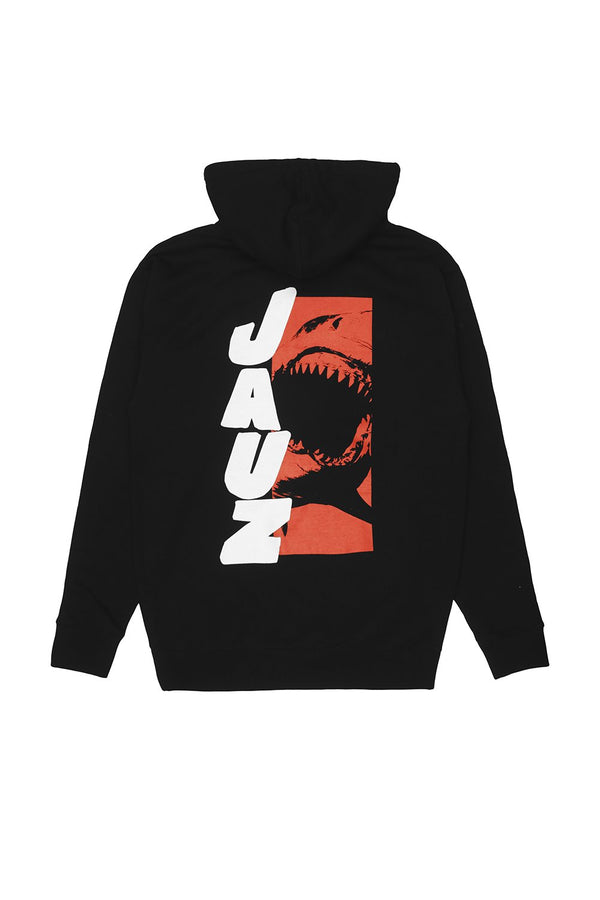Beware of Shark Hoodie OUTERWEAR JAUZ OFFICIAL S Black