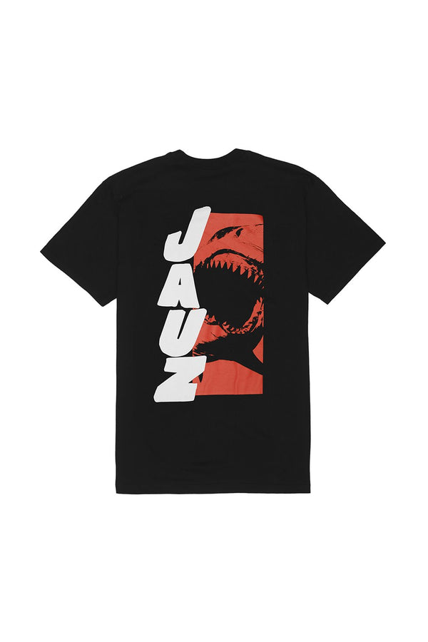 Beware of Shark T-Shirt T-SHIRT JAUZ OFFICIAL S Black