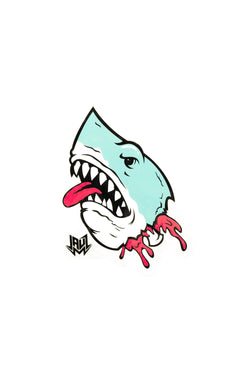 Shark Head Sticker ACCESSORIES JAUZ OFFICIAL