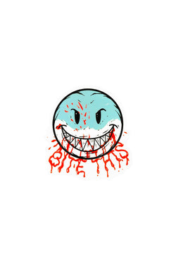 Bloody Smile Sticker ACCESSORIES BiteThis