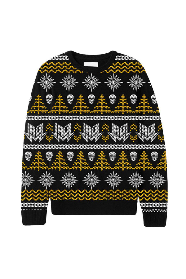 Wicked Holiday Sweater OUTERWEAR JAUZ OFFICIAL S Black