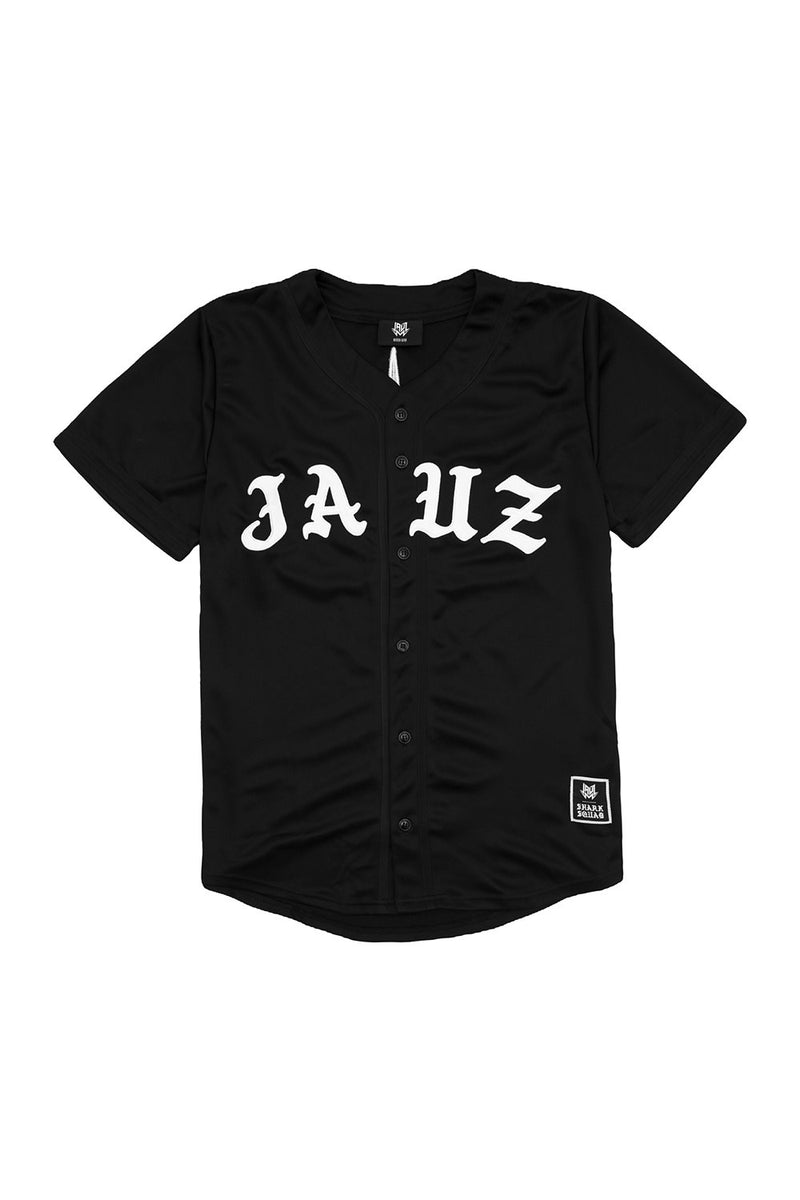 Wise & Wicked Baseball Jersey JERSEY JAUZ OFFICIAL S Black