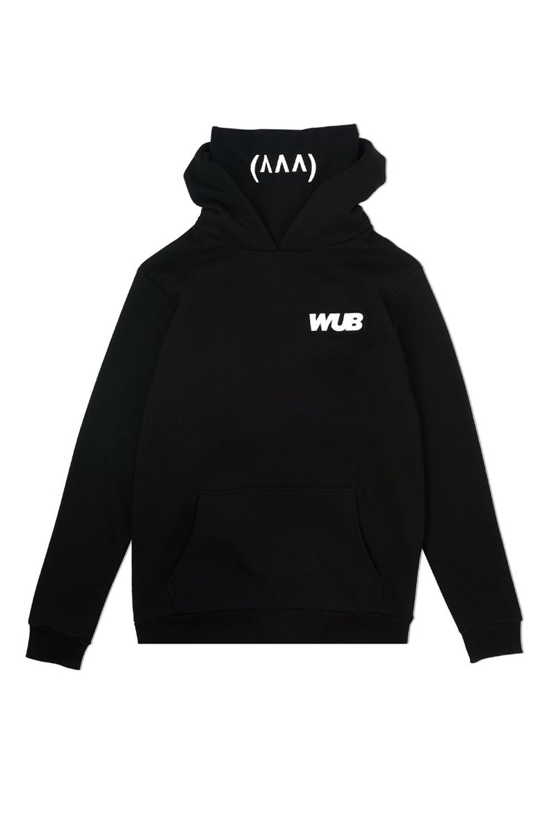 WUBS Snood Hoodie OUTERWEAR JAUZ OFFICIAL S Black