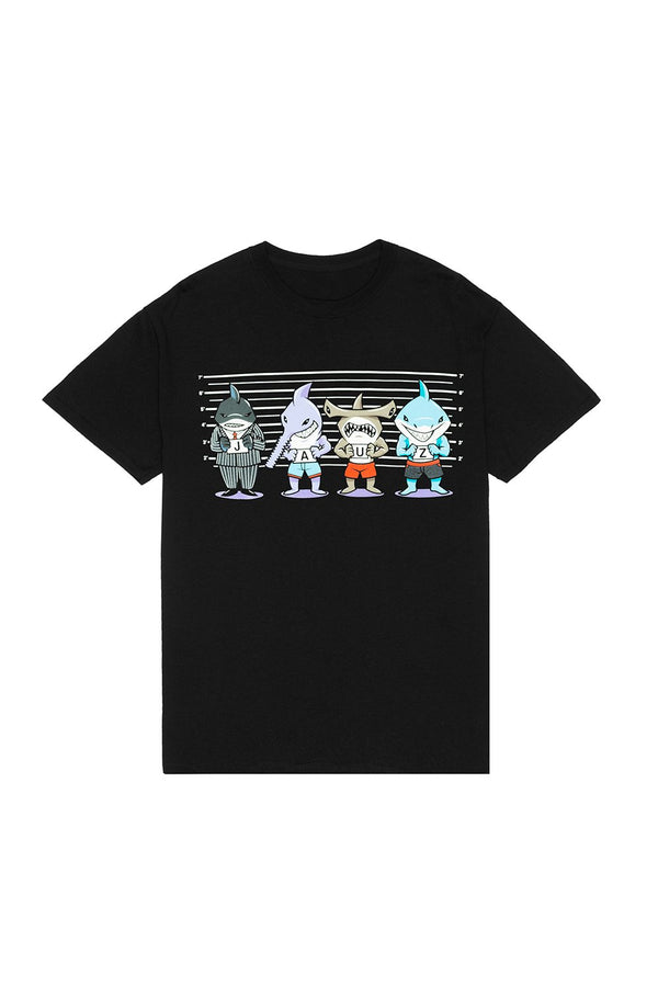 USUAL SUSPECTS TEE T-SHIRT JAUZ OFFICIAL Small Black