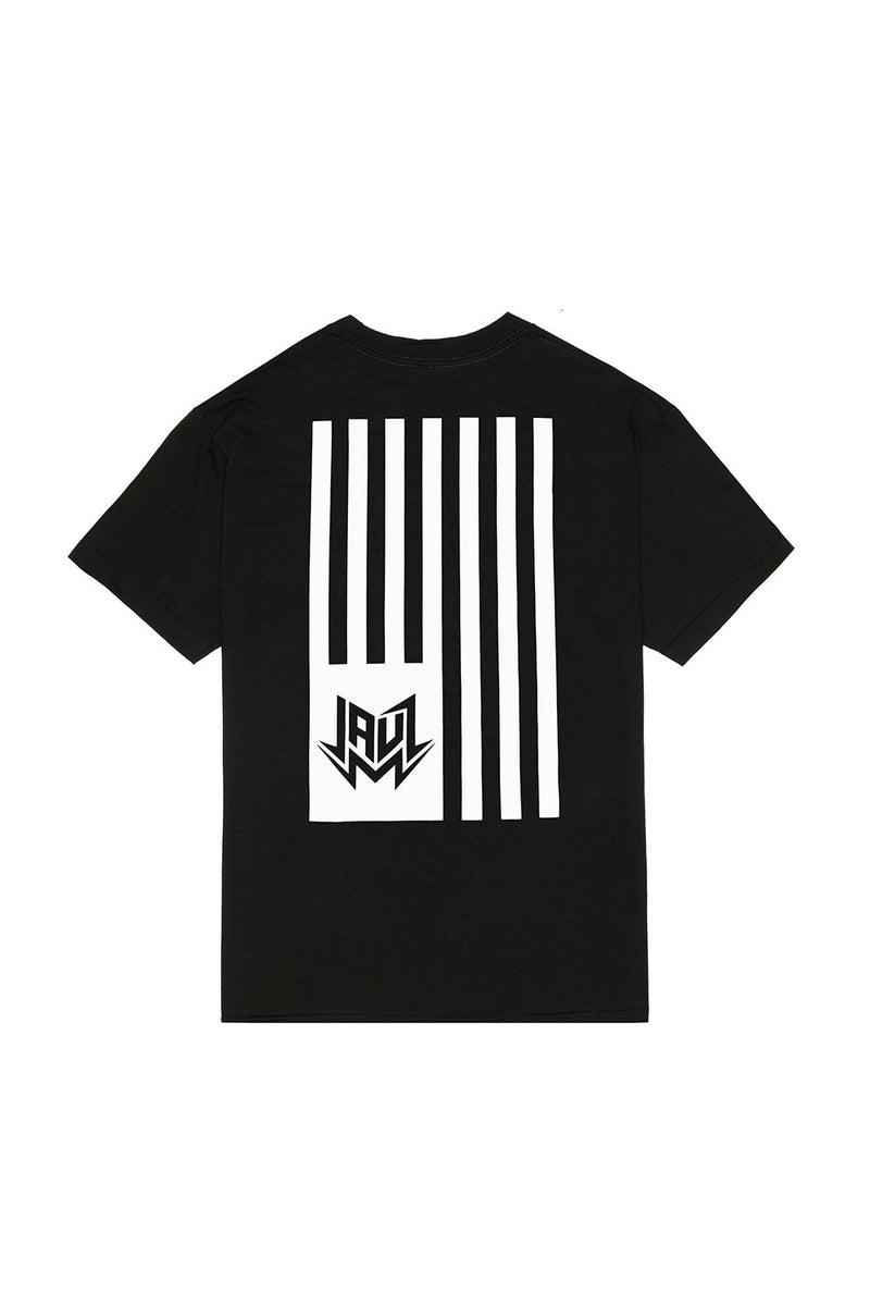 FLAG BLACK T-SHIRT JAUZ OFFICIAL