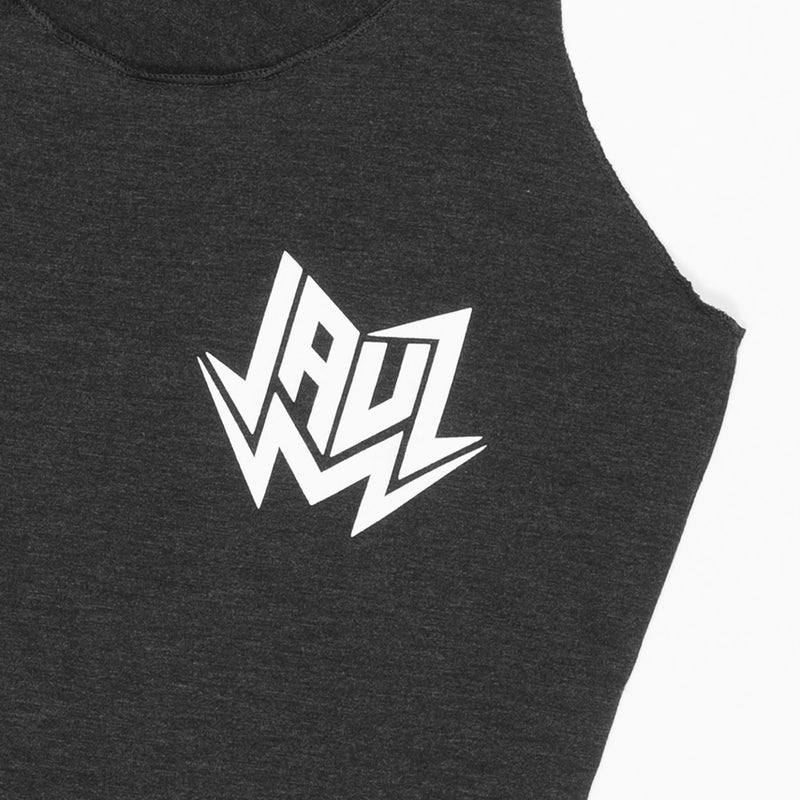 GIRLS CIRCLE TANK BLACK WOMEN JAUZ OFFICIAL
