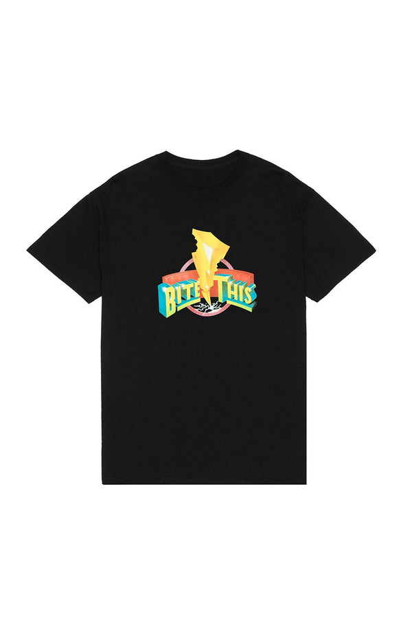 Mighty Bite This T-Shirt T-SHIRT JAUZ OFFICIAL S Black