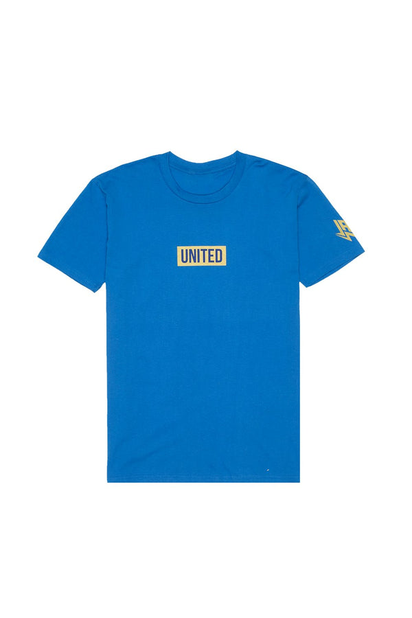 United T-Shirt T-SHIRT JAUZ OFFICIAL S Royal Blue