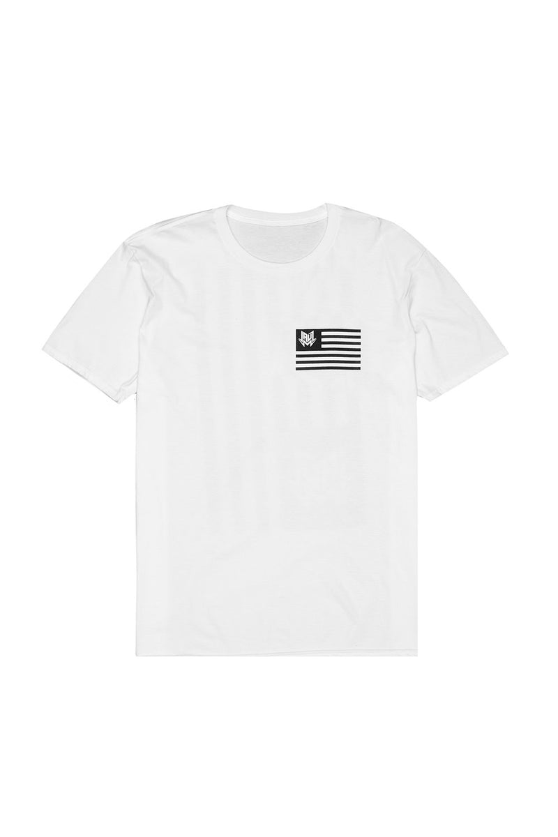 FLAG WHITE T-SHIRT JAUZ OFFICIAL SMALL White