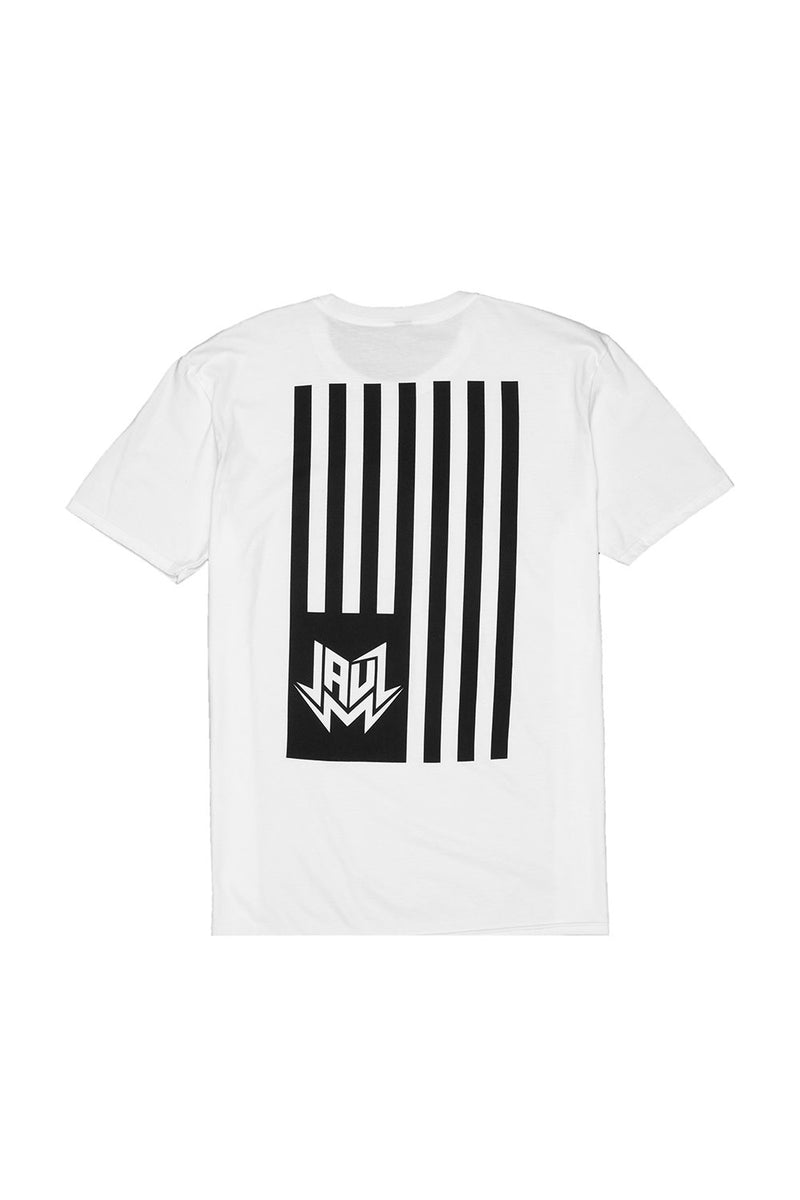 FLAG WHITE T-SHIRT JAUZ OFFICIAL
