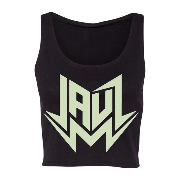 GLOW IN THE DARK CROP TANK