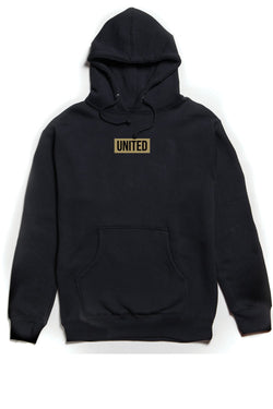 United Hoodie OUTERWEAR JAUZ OFFICIAL S Black