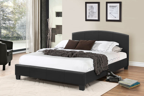 Black, Espresso or White Bed Frame