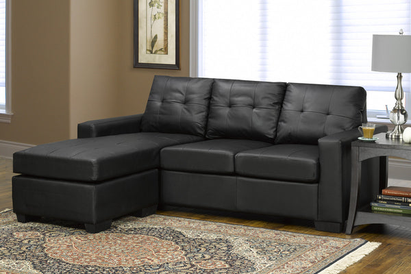 Bonded Leather Sofa Chaise