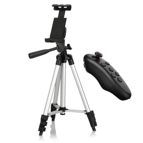 360°Rotation Retractable Selfie Tripod with Bluetooth Remote Control