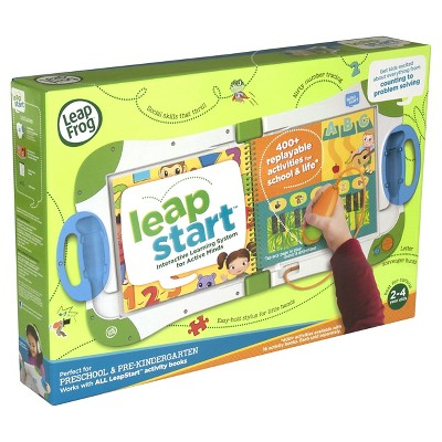 LeapFrog LeapStart Interactive Learning System Activity Book Pre K, Kindergarten
