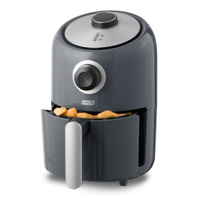 900W Electric Fryer Oil-Less Compact Air Fryer Black 1.2L  w/ TIMER BRAND NEW