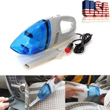 Car 12V Wet Dry Vacuum Cleaner Blue White