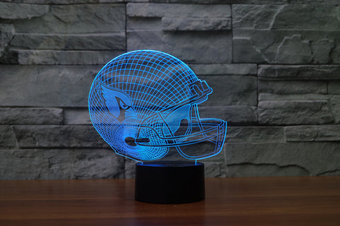 Arizona Cardinals NFL 3D Color Changing Light
