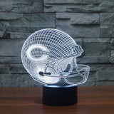 Chicago Bears NFL 3D Color Changing Light