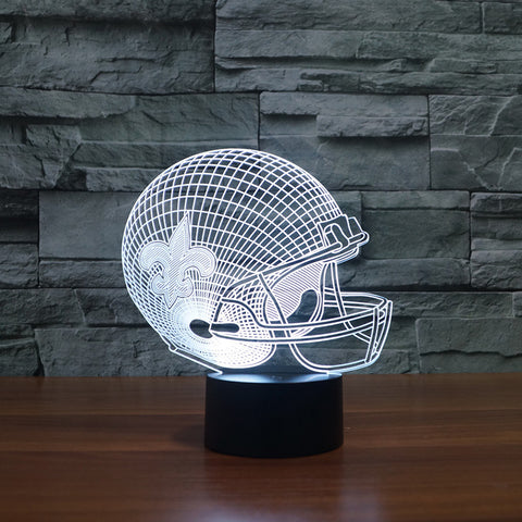 New Orleans Saints NFL 3D Color Changing Light