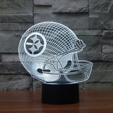 Pittsburgh Steelers NFL 3D Color Changing Light