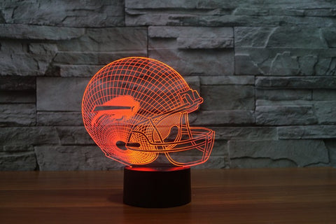 Buffalo Bills NFL 3D Color Changing Light