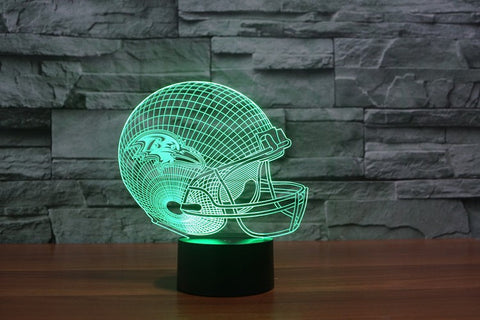 Baltimore Ravens NFL 3D Color Changing Light
