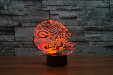 Green Bay Packers NFL 3D Color Changing Light