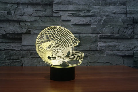 Philadelphia Eagles NFL 3D Color Changing Light