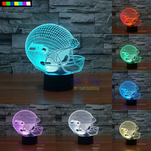 Seattle Seahawks NFL 3D Color Changing Light