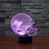 Tampa Bay Buccaneers NFL 3D Color Changing Light