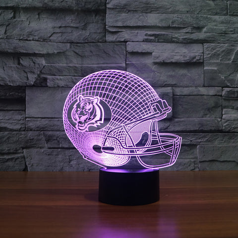Cincinnati Bengals NFL 3D Color Changing Light