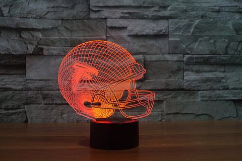 Atlanta Falcons NFL 3D Color Changing Light