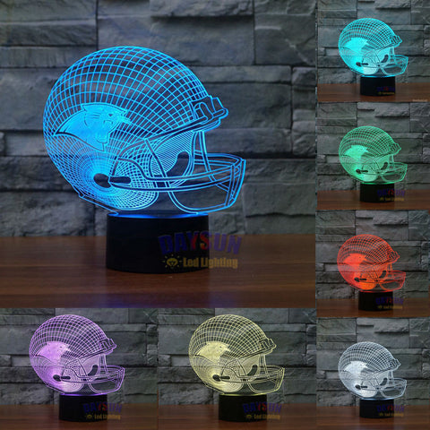 CAROLINA NFL 3D COLOR CHANGING LIGHT