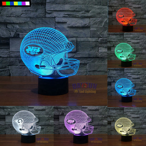 NEW YORK JETS NFL 3D COLOR CHANGING LIGHT