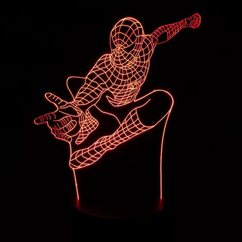Spiderman 3D Table Lamp