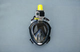 Full Face Anti Fog Snorkel Mask With GoPro Mount