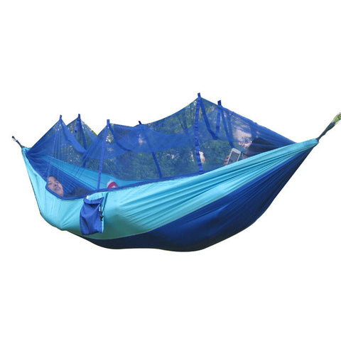 Double Hammock With Mosquito Net
