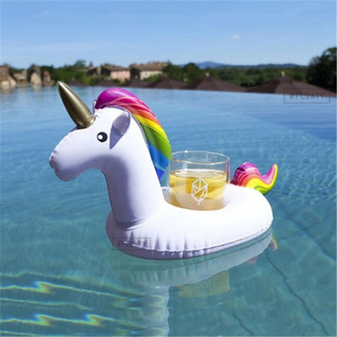 Mini Inflatable Unicorn Cup Holder