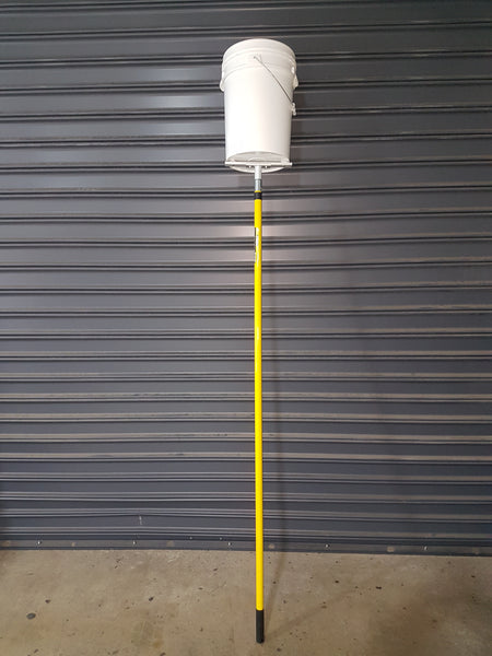 Swarm Catcher bucket on pole